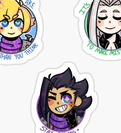Positive Hero Set Sticker