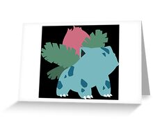 Kanto Starters - Ivysaur Greeting Card
