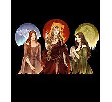Ladies of Thrones Photographic Print