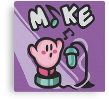 Kirby Mike Canvas Print