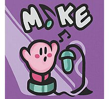 Kirby Mike Photographic Print