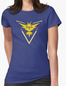 Team Instinct Pokemon Go shirt Womens Fitted T-Shirt