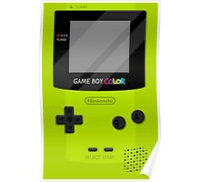 Gameboy Color 2.0 - Green Poster