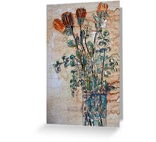 Australian flowers Greeting Card
