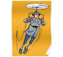 Gadget Copter Poster