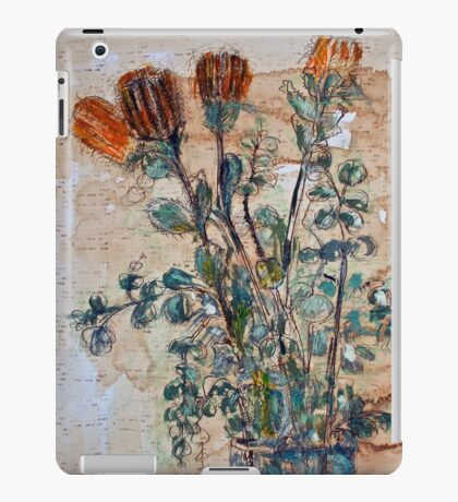 Australian flowers iPad Case/Skin