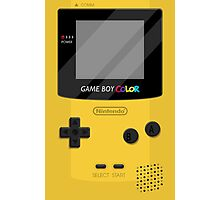 Gameboy Color 2.0 - Yellow Photographic Print