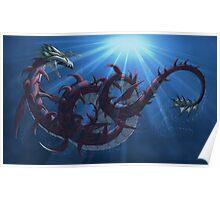 Digimon - Megaseadramon Poster
