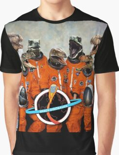 Dinosaurs... IN SPACE!! Graphic T-Shirt