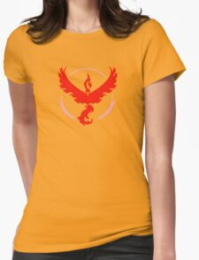 Team Valor Pokemon GO Womens Fitted T-Shirt