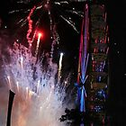 Marin County Fair Fire Works 2014 by David Denny