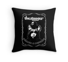 The Stooges (Search and Destroy) Throw Pillow
