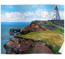 Cap Egmont Lighthouse PEI Poster