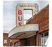 trailways Poster