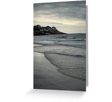 Good Harbor Beach I Color  Greeting Card