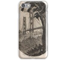 GOLDEN GATE BRIDGE AT SUNRISE-PARTEE 1977 #4/50 iPhone Case/Skin