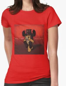 Fall Out Boy Folie a Deux wall flag scarf Womens Fitted T-Shirt