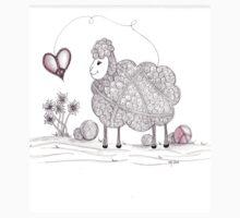 Tangled Peaceful Sheep Kids Clothes