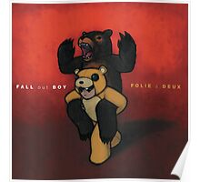 Fall Out Boy Folie a Deux wall flag scarf Poster