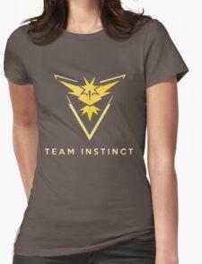 Pokemon Go - Team Instinct Womens Fitted T-Shirt