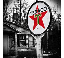 trust texaco Photographic Print