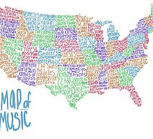 Map of Music by VPettis