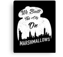 Marshmallow City  Canvas Print