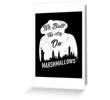 Marshmallow City  Greeting Card