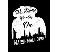 Marshmallow City  Photographic Print