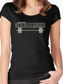 Bar Wars - Return of the Shredi Women's Fitted Scoop T-Shirt