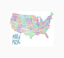 Map of Music T-Shirt
