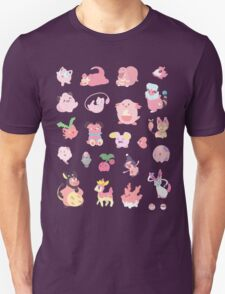 Pink Pokemon Unisex T-Shirt