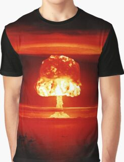 Operation Castle Romeo Nuclear Test - 1954 Graphic T-Shirt