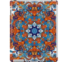 Orange & Blue Boho Mandela Pattern iPad Case/Skin