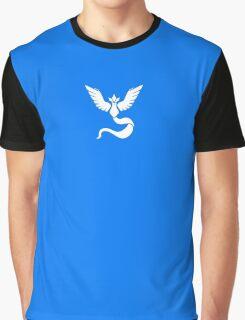 Pokemon Go - Team Mystic (Solid) Graphic T-Shirt