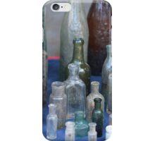 antique wine bottles iPhone Case/Skin