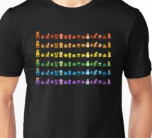 Rainbow Super Mario - Horizontal Version 1 Unisex T-Shirt
