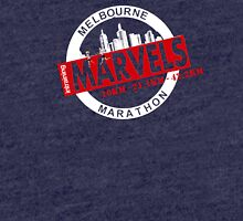 Melbourne Marvel Participent Range red Tri-blend T-Shirt