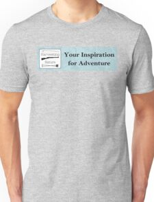 Your Inspiration for Adventure Unisex T-Shirt