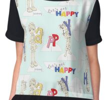 Let's Get Happy! Chiffon Top