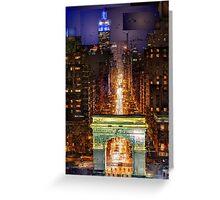 New York City - Washington Square Greeting Card