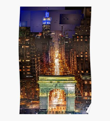 New York City - Washington Square Poster