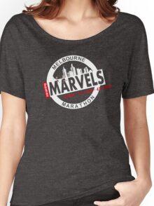 Melbourne Marvel Participent Range white Women's Relaxed Fit T-Shirt