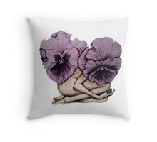 Blossoming Belle Throw Pillow