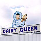dairy queen's eskimo girl by Lenore Locken