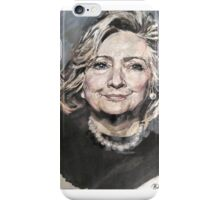 Hillary Rodham Clinton Official White House Portrait iPhone Case/Skin