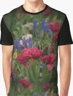 Flowers in the Garden Graphic T-Shirt