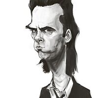 Nick Cave by groovyart