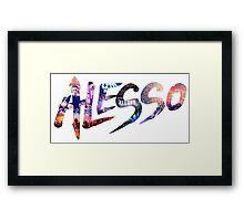 Alesso Montage Framed Print