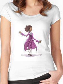 Hamilton Musical x Thomas Jefferson Women's Fitted Scoop T-Shirt